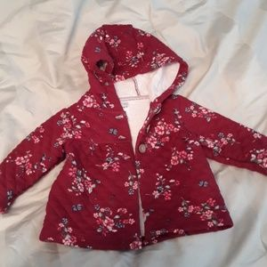 Red 3 month Jacket